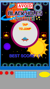 Avoid The Black Holes or Die! screenshot 0