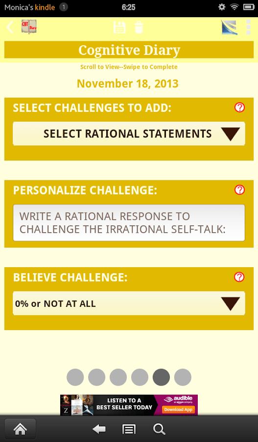 Self Improvement Apps Goals