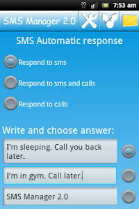 SMS Manager 2.0 screenshot 3