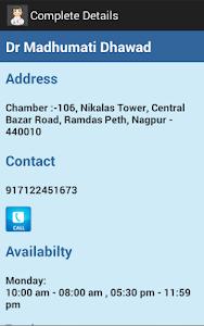 Nagpur Doctor Finder screenshot 3