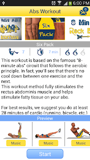 8 Minutes Abs Workout screenshot 05