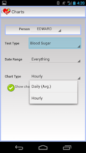 EZ Health Tracker Plus screenshot 4