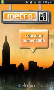 metroDF Realidad Aumentada screenshot 0
