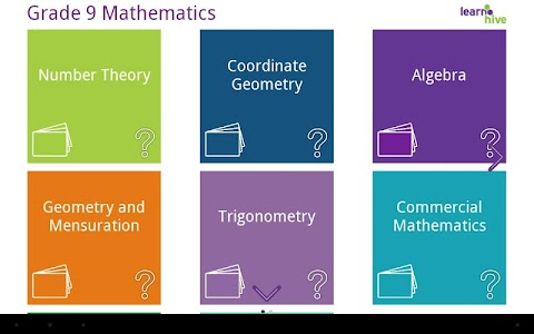 Grade 9 Math Learning Cards screenshot 12