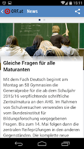 ORF.at News screenshot 1