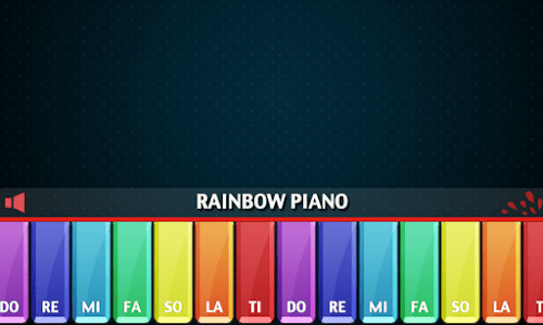 Rainbow Piano screenshot 9
