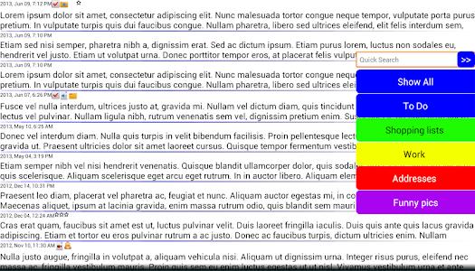 Journal Notes Multimedia screenshot 3