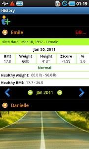 BMI Calculator Pro screenshot 2
