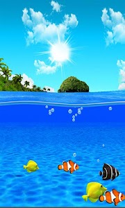 Aqua World HD Free wallpaper screenshot 5