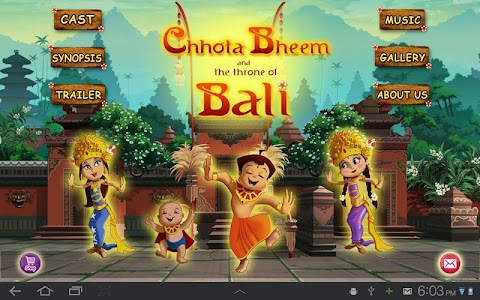 Bali Movie App - Chhota Bheem screenshot 0
