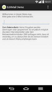 EditMail Demo screenshot 0