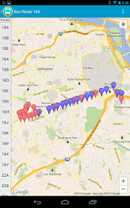 DC Metro Bus Search screenshot 10