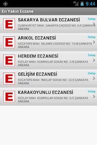 Yakın Eczaneler screenshot 1