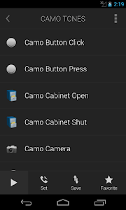 Camo Tones - Secret Ringtones screenshot 0