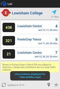 Depart: London Transport Live screenshot 5