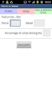 Petrol or Diesel screenshot 1