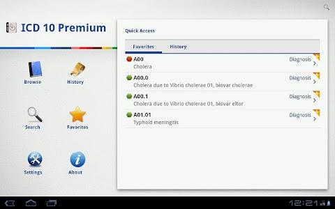 ICD 10 Lite 2012 screenshot 1