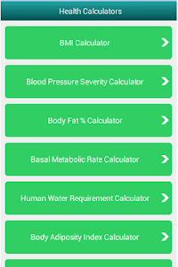 Body mass index Calculator screenshot 0