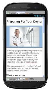 Cystitis Disease & Symptoms screenshot 6