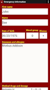 Emergency Information screenshot 3
