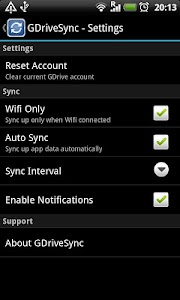 GDriveSync screenshot 2
