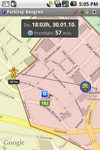 Parkiraj Beograd screenshot 2
