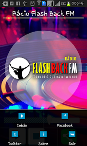Rádio Flash Back FM screenshot 2