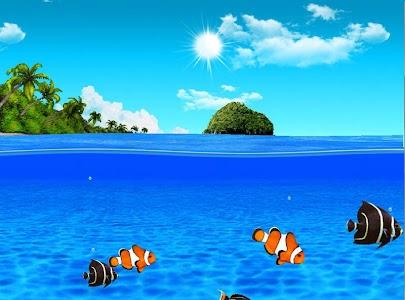 Aqua World HD Free wallpaper screenshot 12