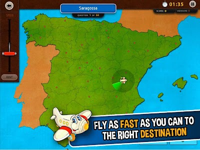 GeoFlight Spain: Geography screenshot 10