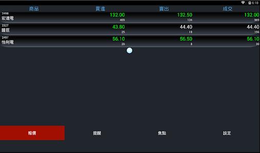 股票報馬仔 - 語音報價,台股,股市,股東會,三大法人 screenshot 8