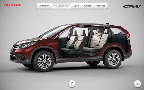 Honda CRV screenshot 1