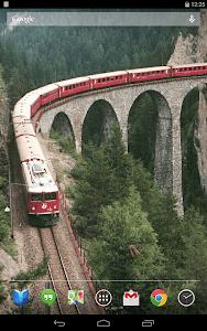 Trains on Bridges Wallpaper screenshot 8