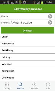 Zdravotnický průvodce screenshot 5