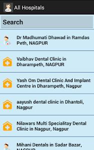 Nagpur Doctor Finder screenshot 2