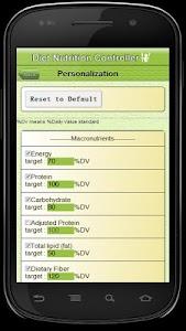 Diet Nutrition Controller screenshot 3