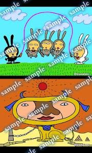 Daily Cartoon019 LWP & Clock screenshot 3