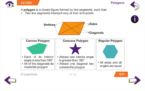 Grade 7 Math Learning Cards screenshot 12