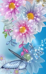 Flowers Live Wallpaper screenshot 5