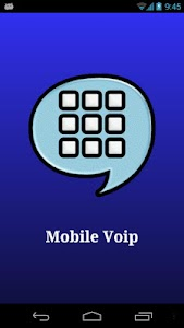 Mobile VoIP phone, Save money! screenshot 0
