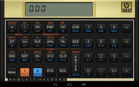 HP 12c Financial Calculator screenshot 4