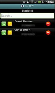 Auxify Call Blocker SMS Eraser screenshot 6