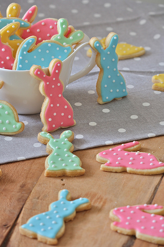 Easter Baking Kids