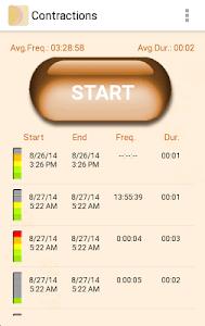 My Contractions Tracker screenshot 3