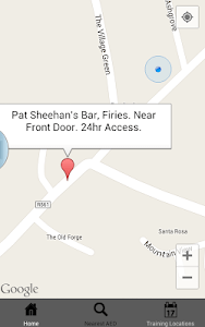 Defibrillator Map screenshot 2