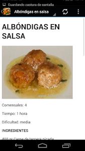 Recetas de cocina gratis screenshot 8