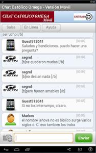Chat Católico Omega screenshot 1