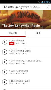 30A Songwriter Radio screenshot 1