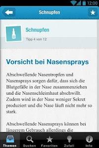 Erkältungs-Tipps screenshot 4