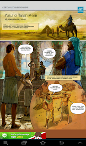 Komik:Alkitab Jilild 1 screenshot 4
