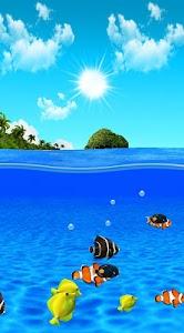 Aqua World HD Free wallpaper screenshot 0
